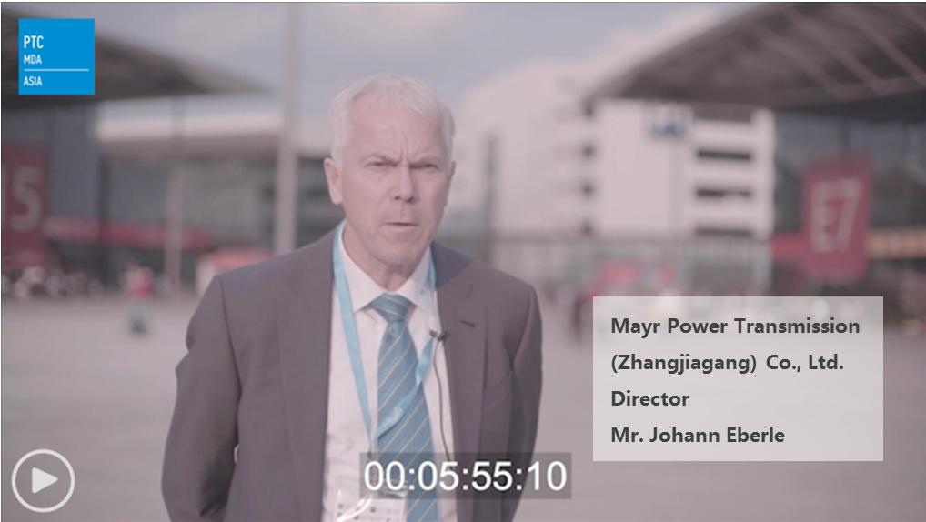 Mayr Power Transmission (Zhangjiagang) Co., Ltd. -  Director - Mr. Johann Eberle