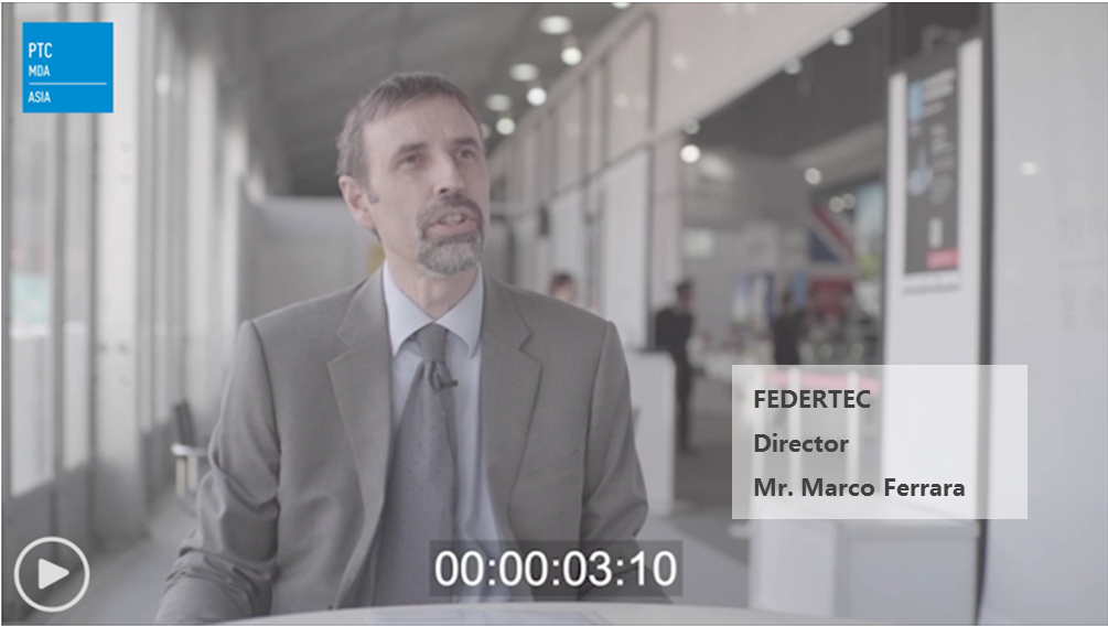Director of FEDERTEC - Mr. Marco Ferrara