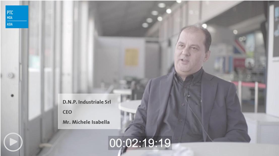 D.N.P. Industriale Srl - CEO of D.N.P. Industriale Srl - Micheal Isabella